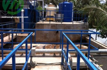 Thi công hệ thống xử lý nước thải chế biến dừa Công ty Định Phú Mỹ