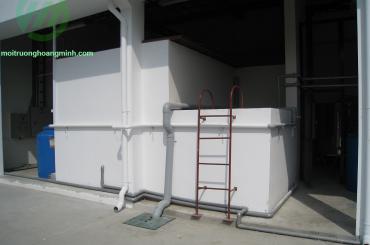 Hệ thống xử lý nước thải xi mạ công ty Juki Việt Nam
