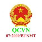 QCVN 07:2009/BTNMT Quy chuẩn Việt Nam về ngưỡng chất thải nguy hại